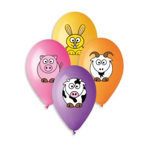 Farm theme balloons